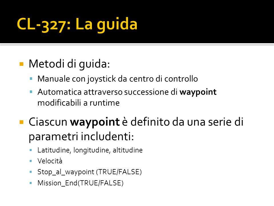 CL-327: La guida Metodi di guida: