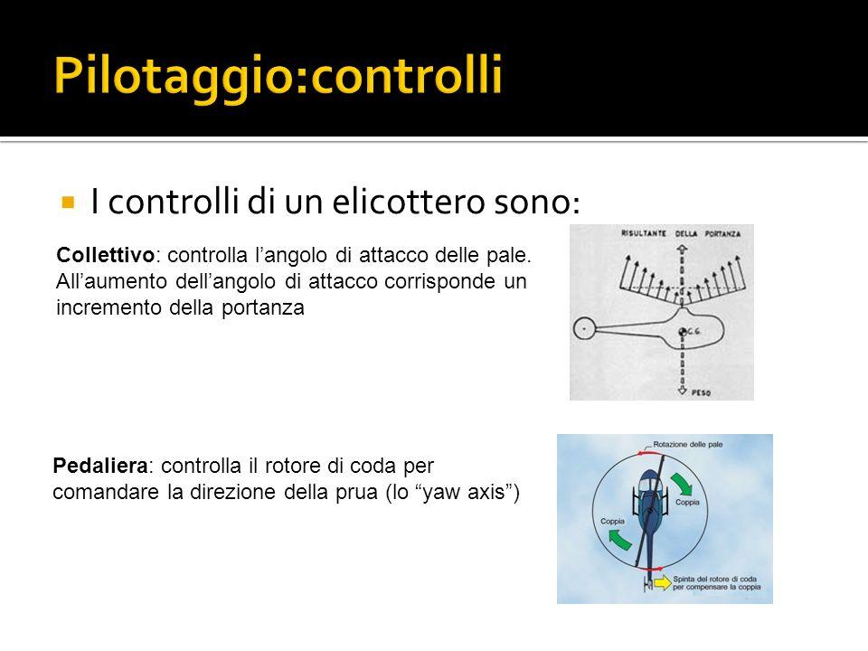 Pilotaggio:controlli