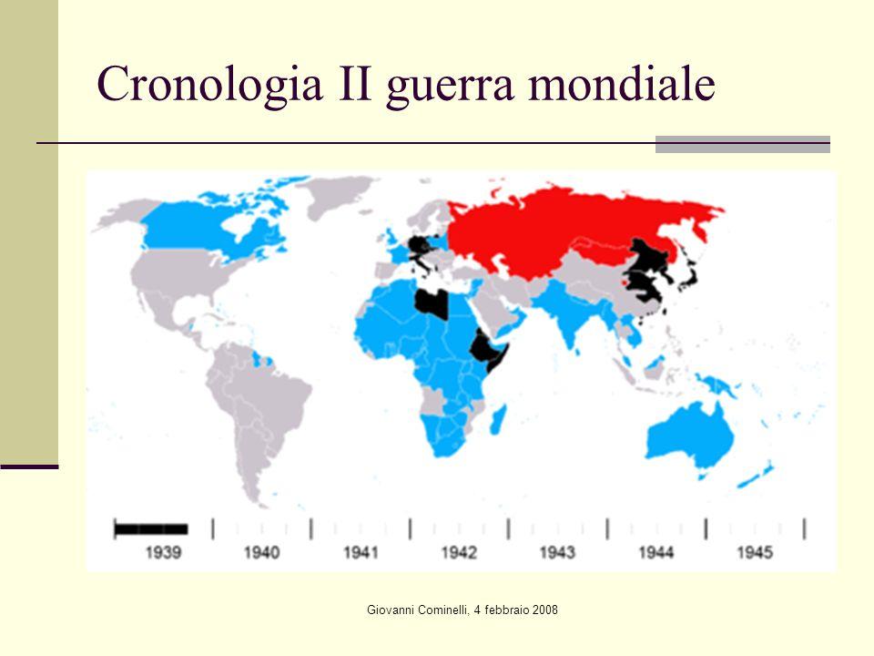 Cronologia II guerra mondiale