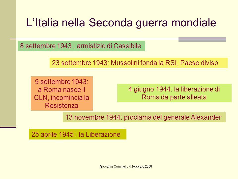 L'Italia nella Seconda guerra mondiale