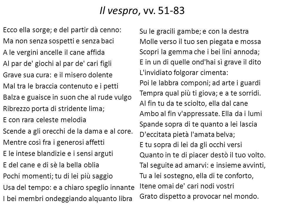 Il vespro, vv. 51-83