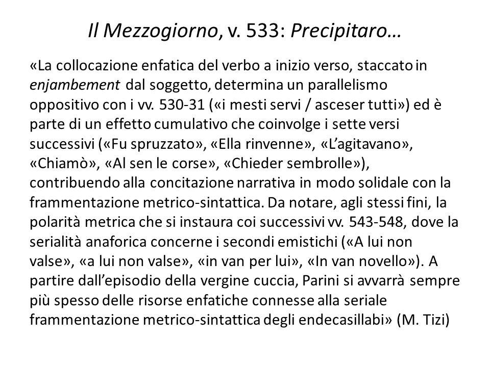 Il Mezzogiorno, v. 533: Precipitaro…