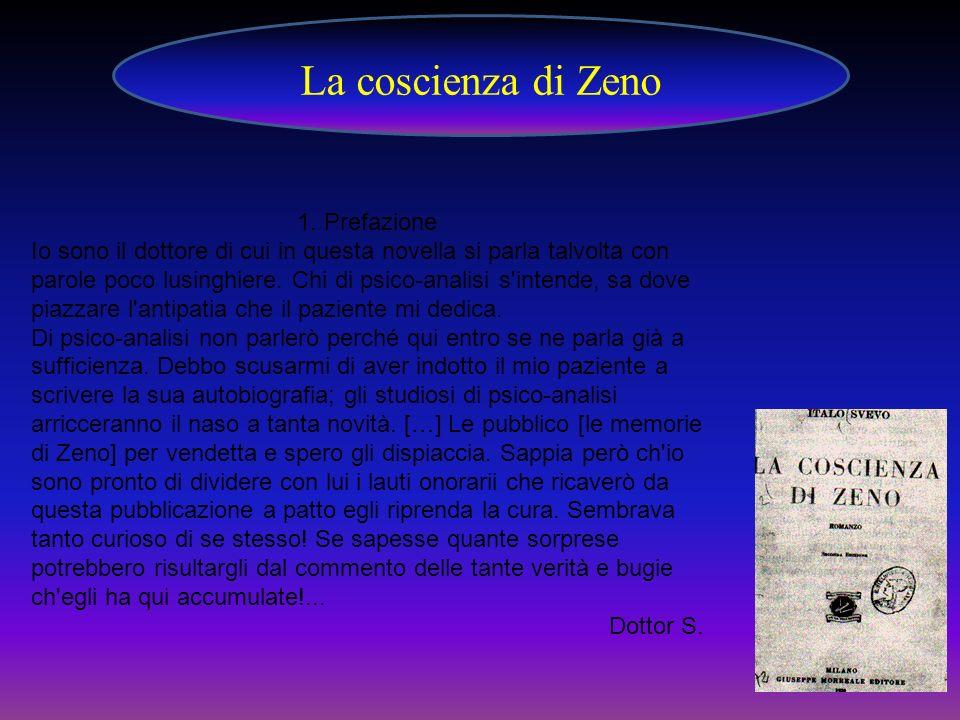 La coscienza di Zeno 1. Prefazione