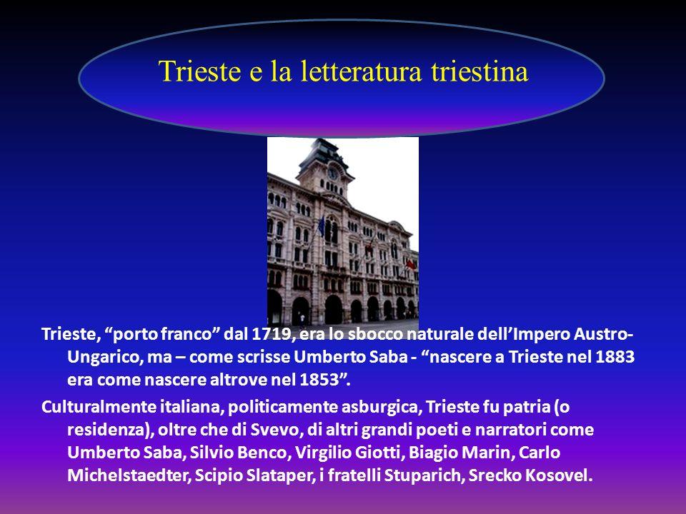 Trieste e la letteratura triestina