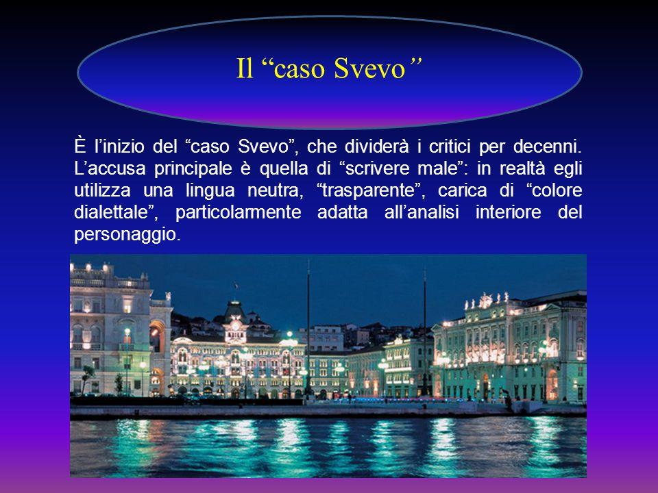 Il caso Svevo