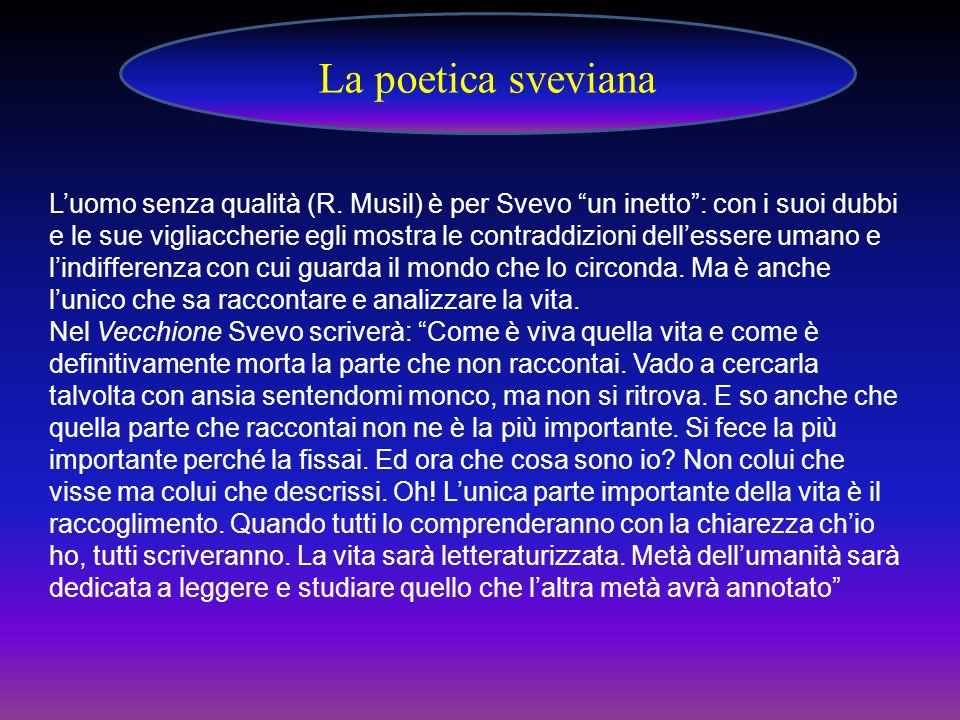 La poetica sveviana
