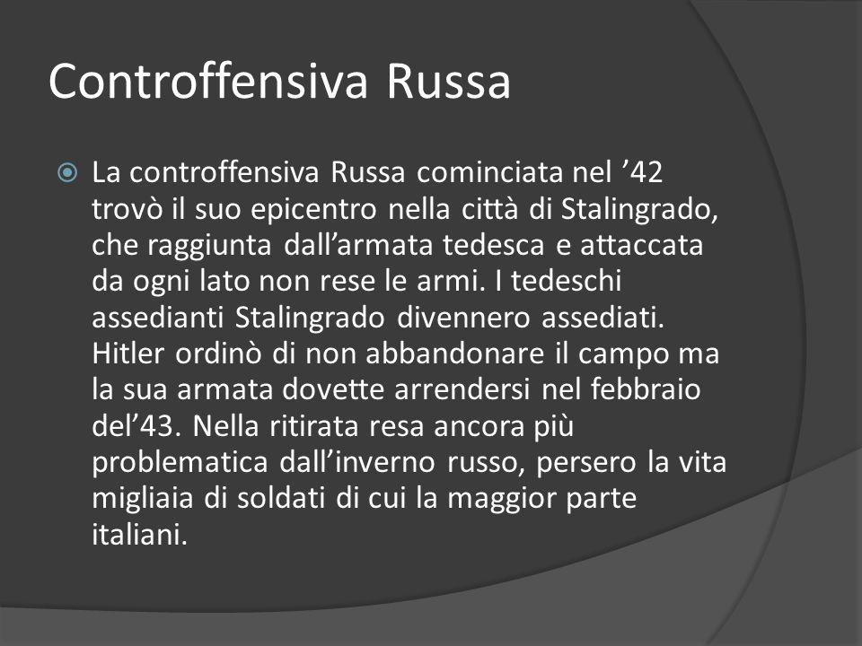 Controffensiva Russa