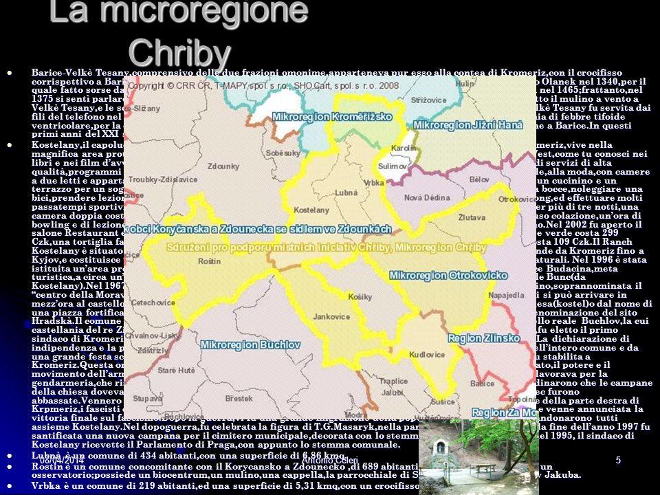 La microregione Chriby