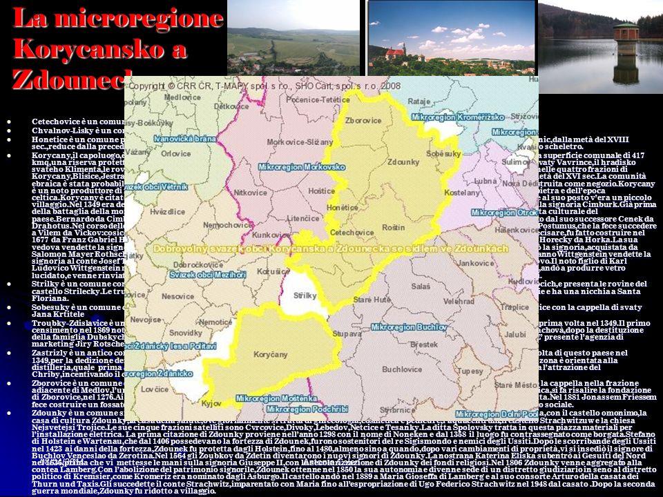 La microregione Korycansko a Zdounecko