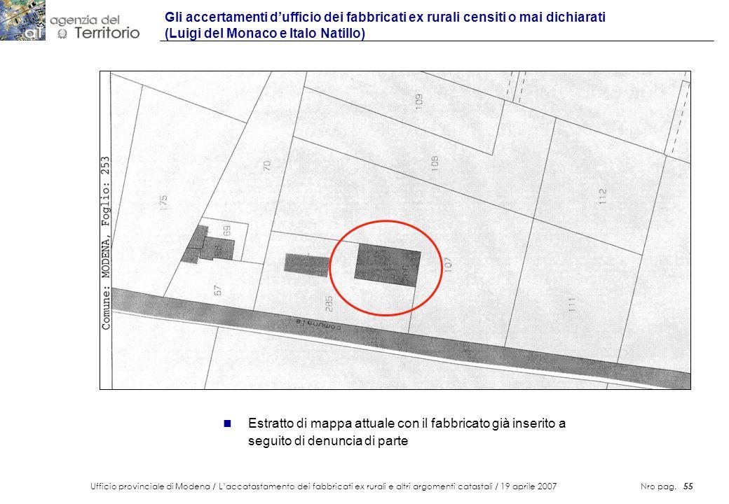 Gli accertamenti d'ufficio dei fabbricati ex rurali censiti o mai dichiarati (Luigi del Monaco e Italo Natillo)