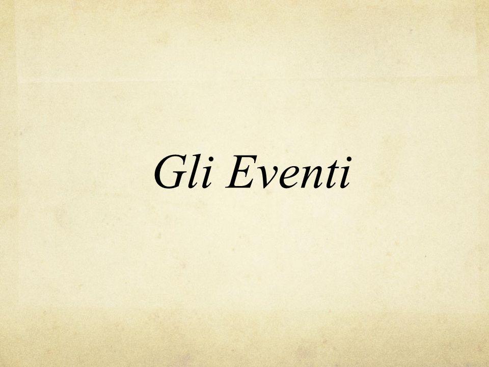 Gli Eventi