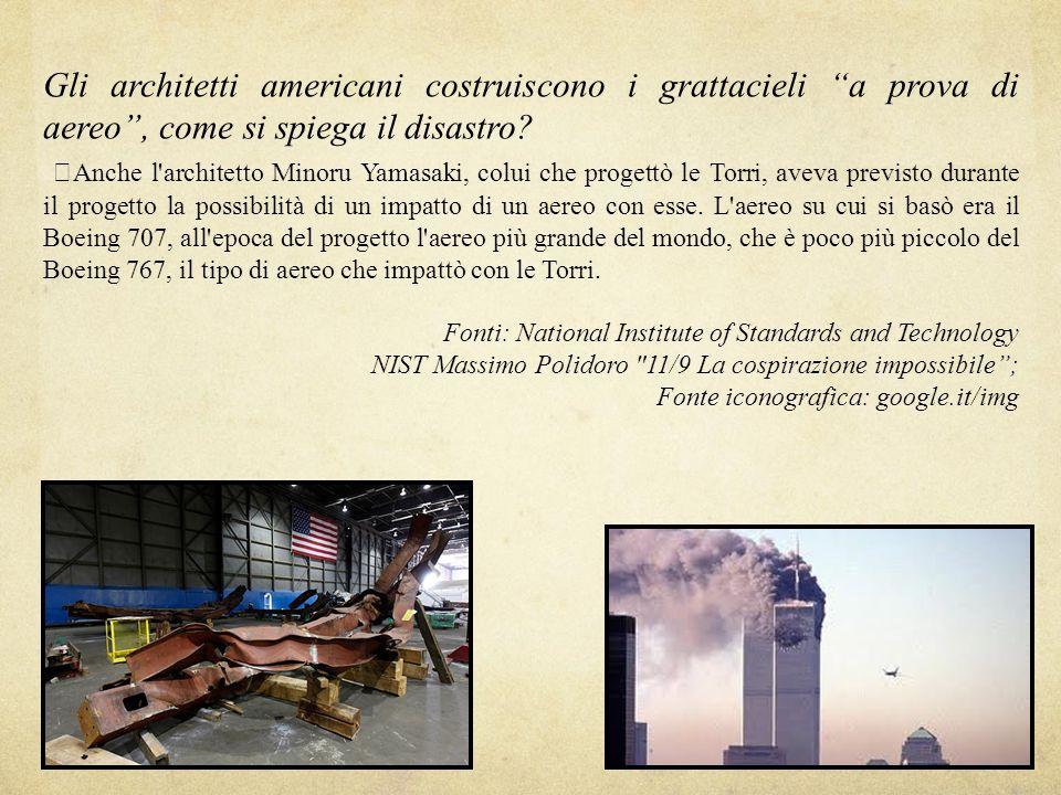 Gli architetti americani costruiscono i grattacieli a prova di aereo , come si spiega il disastro