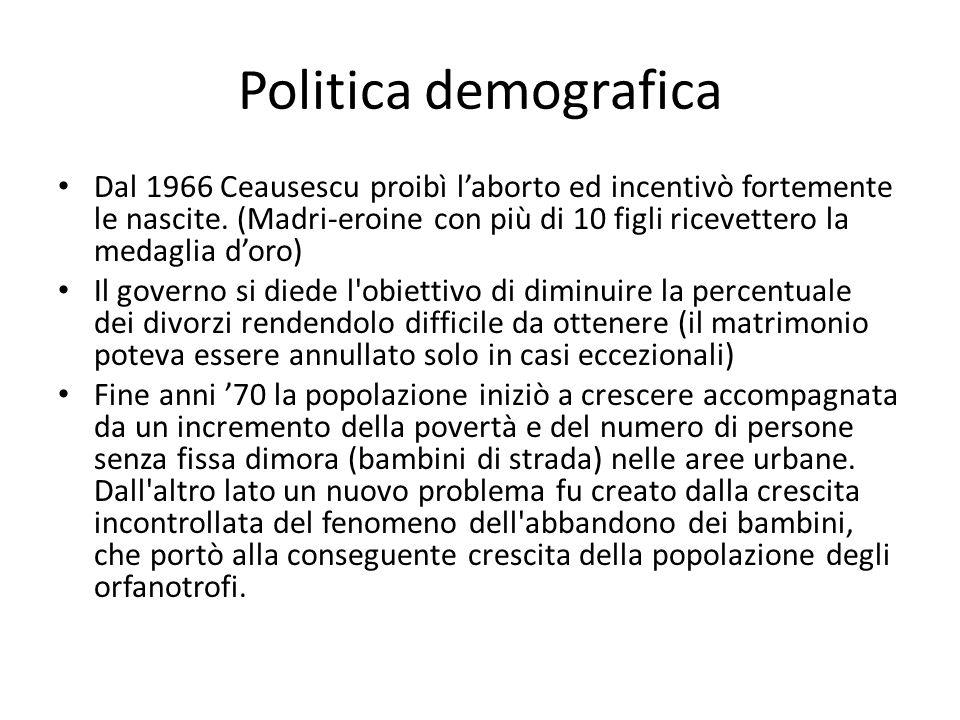 Politica demografica