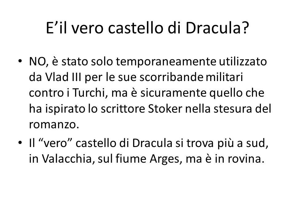 E'il vero castello di Dracula