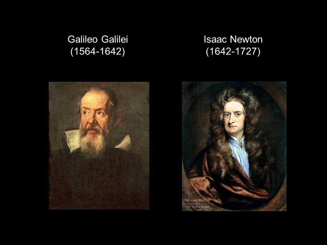 Galileo Galilei (1564-1642) Isaac Newton (1642-1727)
