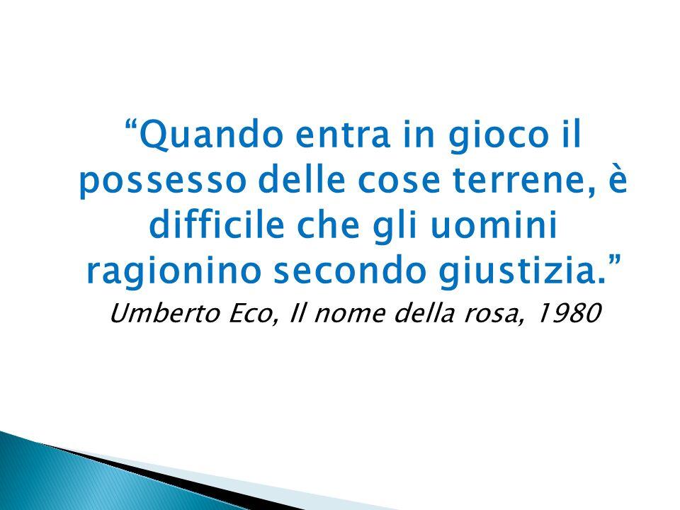Umberto Eco, Il nome della rosa, 1980