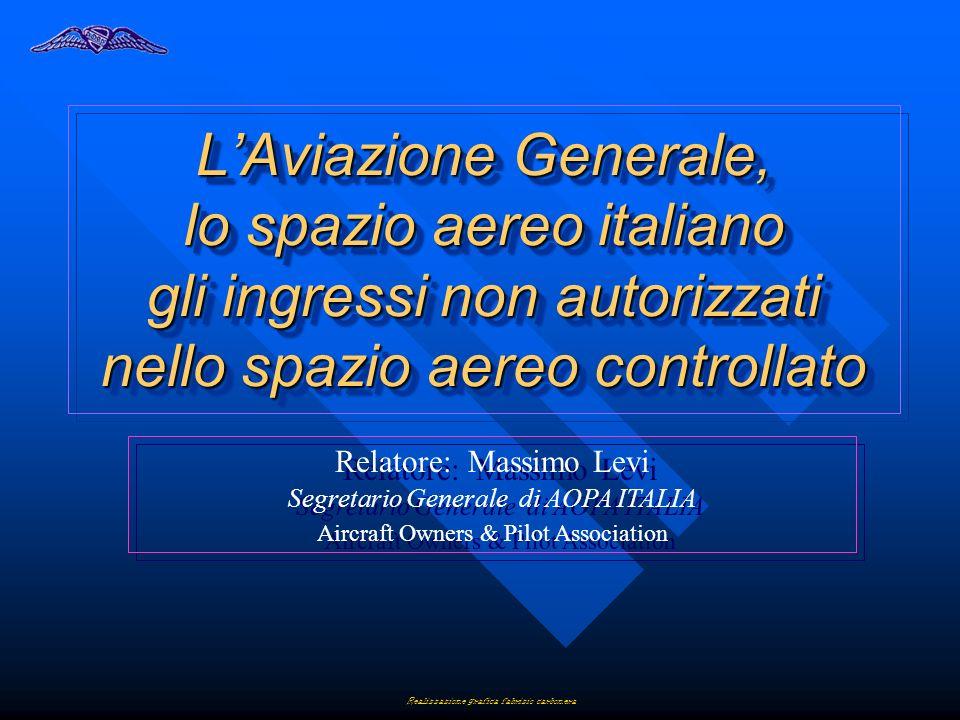 L'Aviazione Generale, lo spazio aereo italiano gli ingressi non autorizzati nello spazio aereo controllato