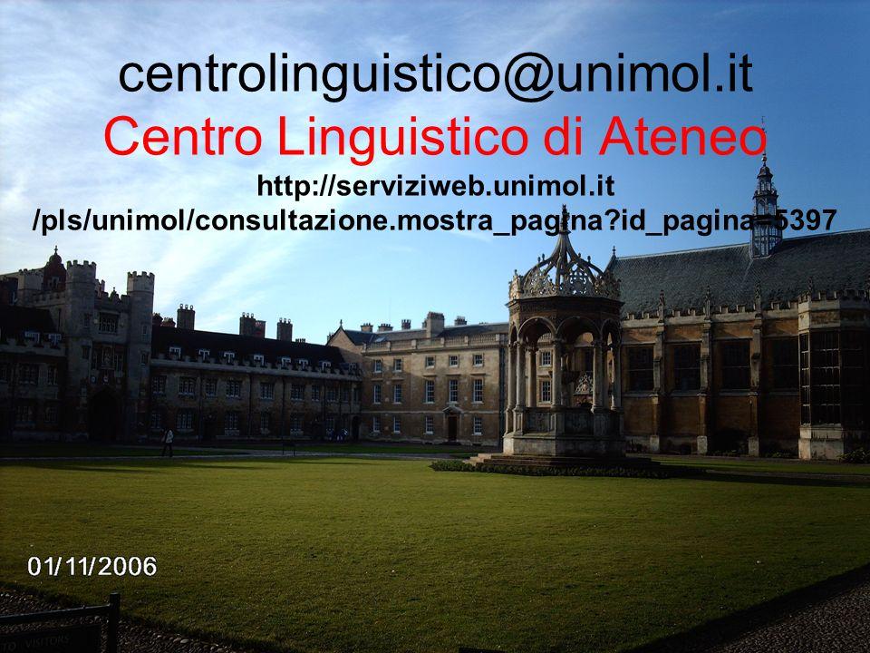 centrolinguistico@unimol