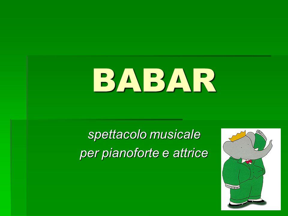 spettacolo musicale per pianoforte e attrice
