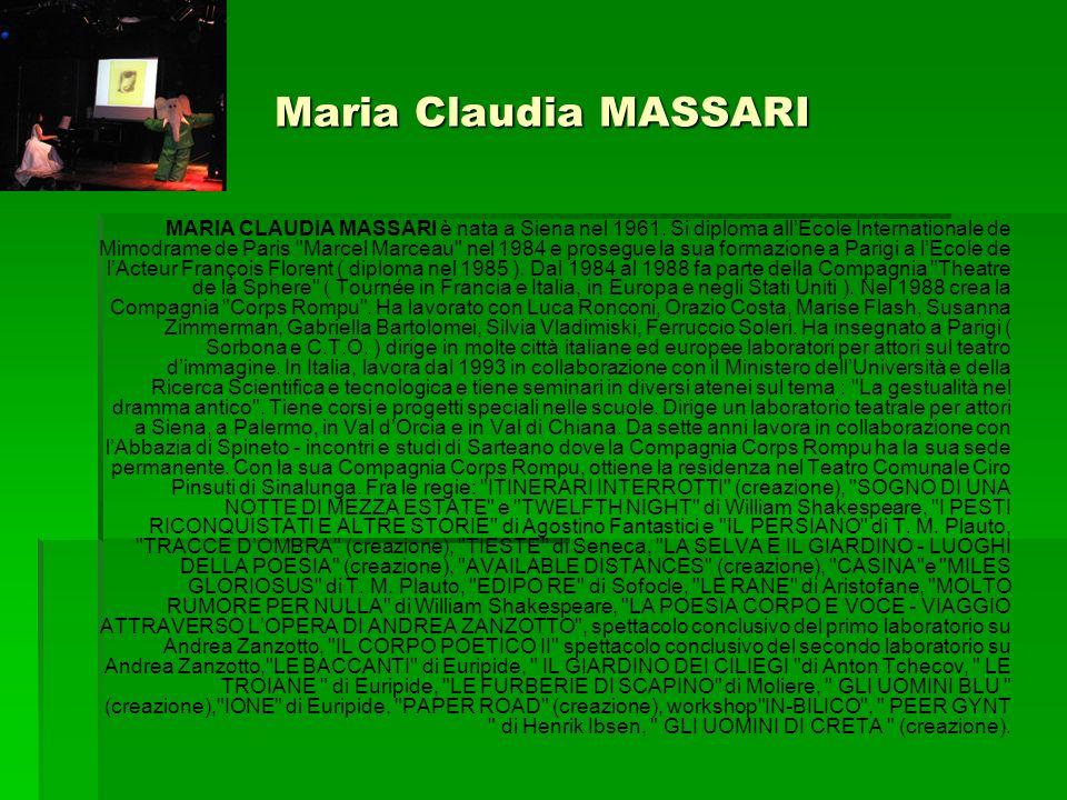 Maria Claudia MASSARI