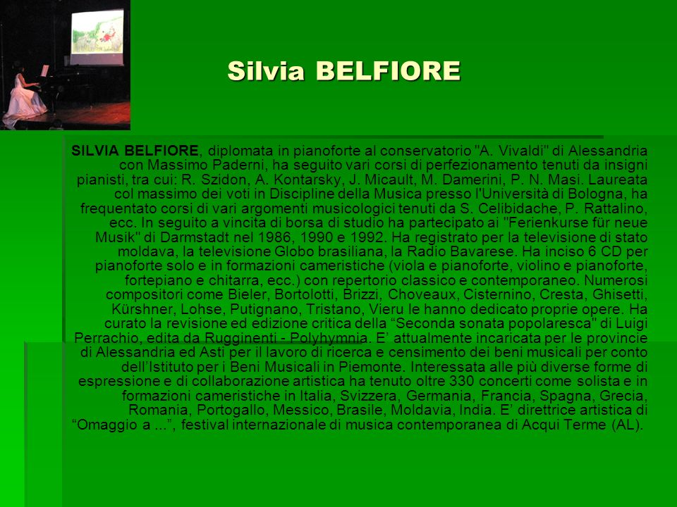Silvia BELFIORE