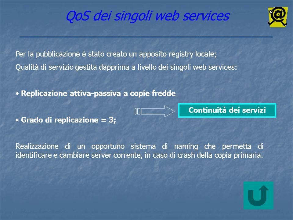 Continuità dei servizi