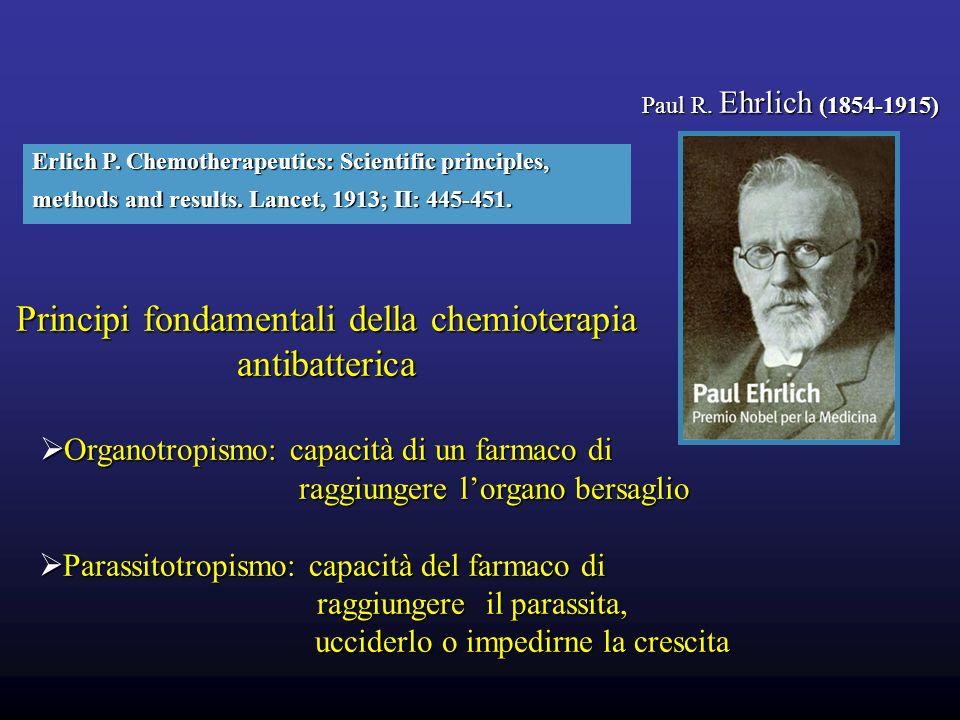 Principi fondamentali della chemioterapia antibatterica