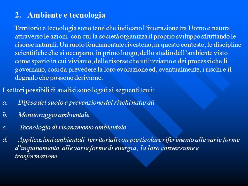 Ambiente e tecnologia