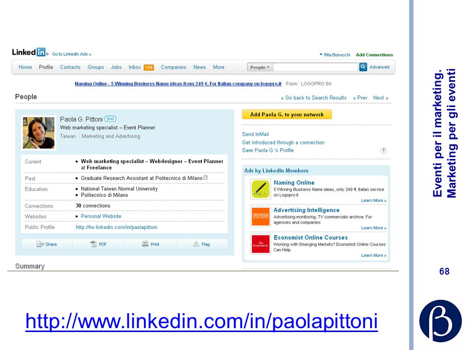 http://www.linkedin.com/in/paolapittoni