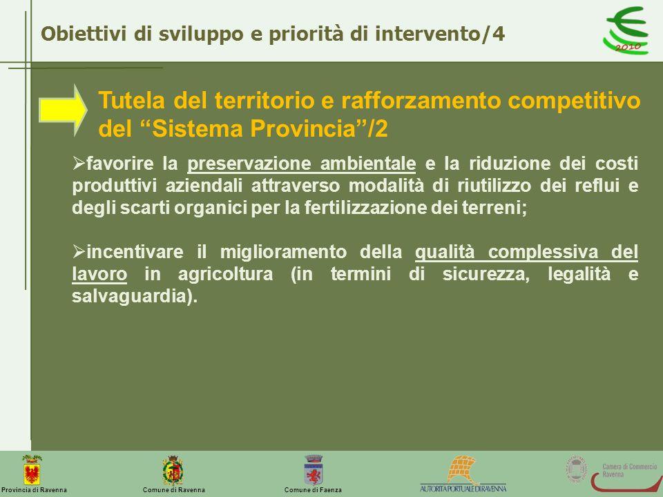 Obiettivi di sviluppo e priorità di intervento/4