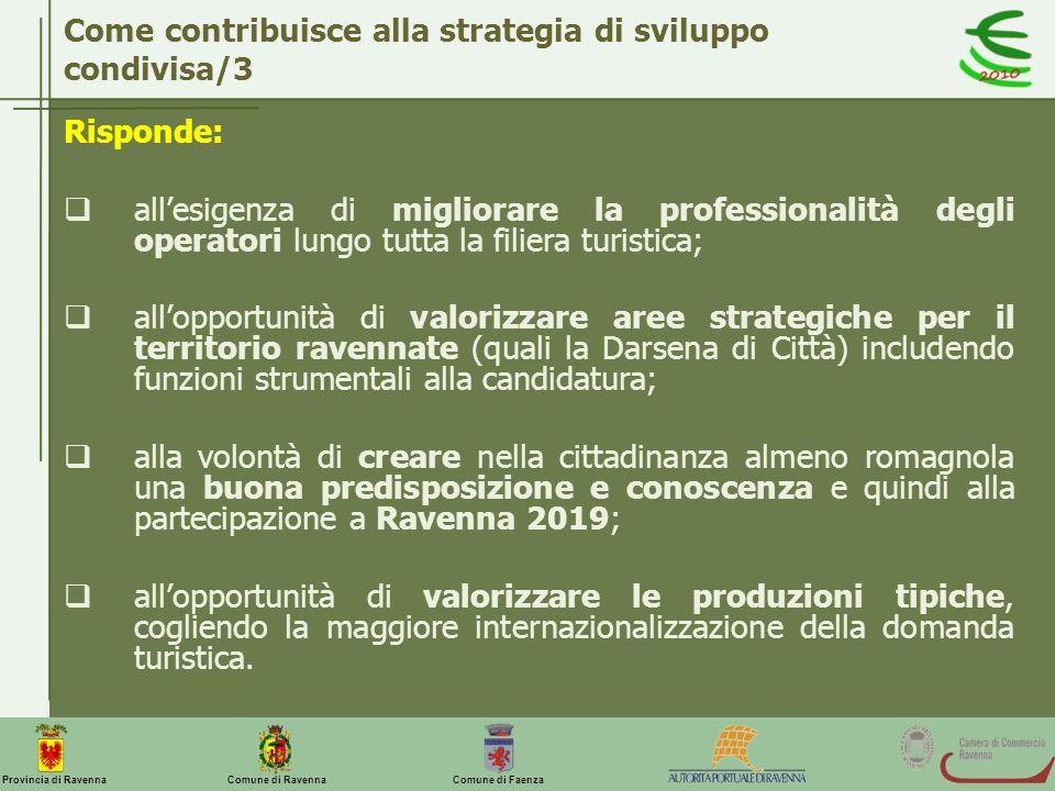 Come contribuisce alla strategia di sviluppo condivisa/3