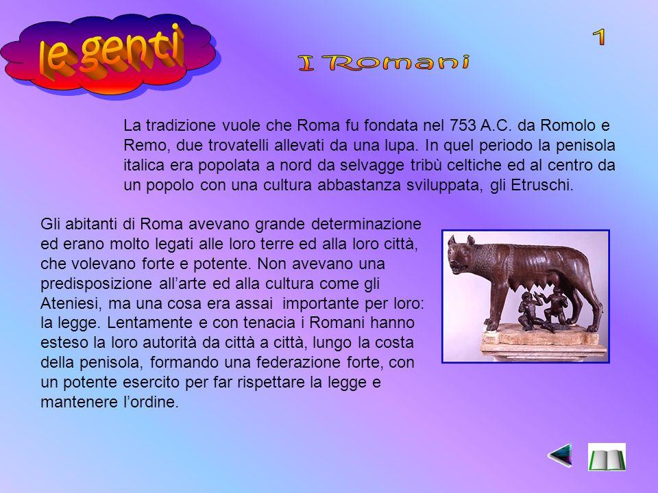 le genti 1. I Romani.