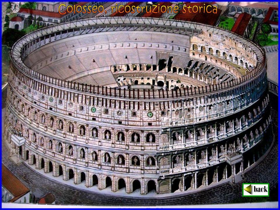 Colosseo, ricostruzione storica