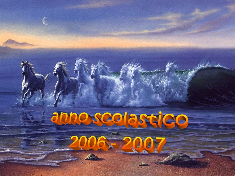 anno scolastico 2006 - 2007
