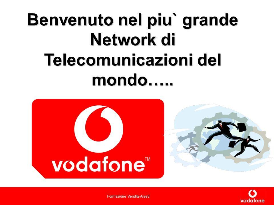 Benvenuto nel piu` grande Network di Telecomunicazioni del mondo…..