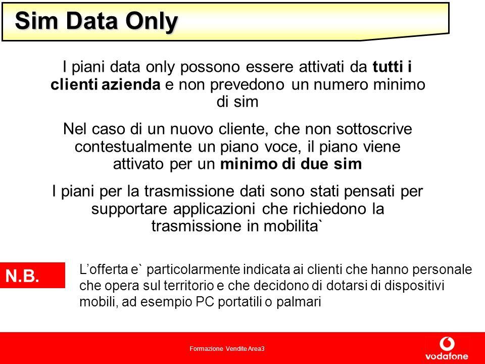 Sim Data Only I piani data only possono essere attivati da tutti i clienti azienda e non prevedono un numero minimo di sim.