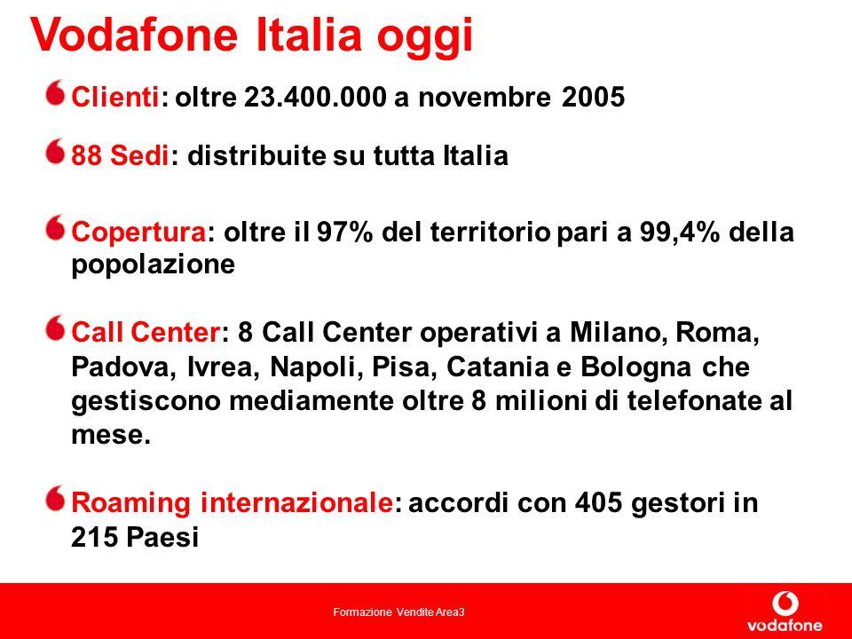 Vodafone Italia oggi Clienti: oltre 23.400.000 a novembre 2005