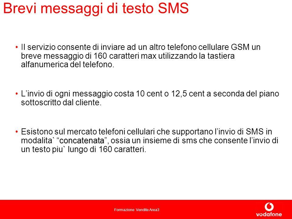 Brevi messaggi di testo SMS