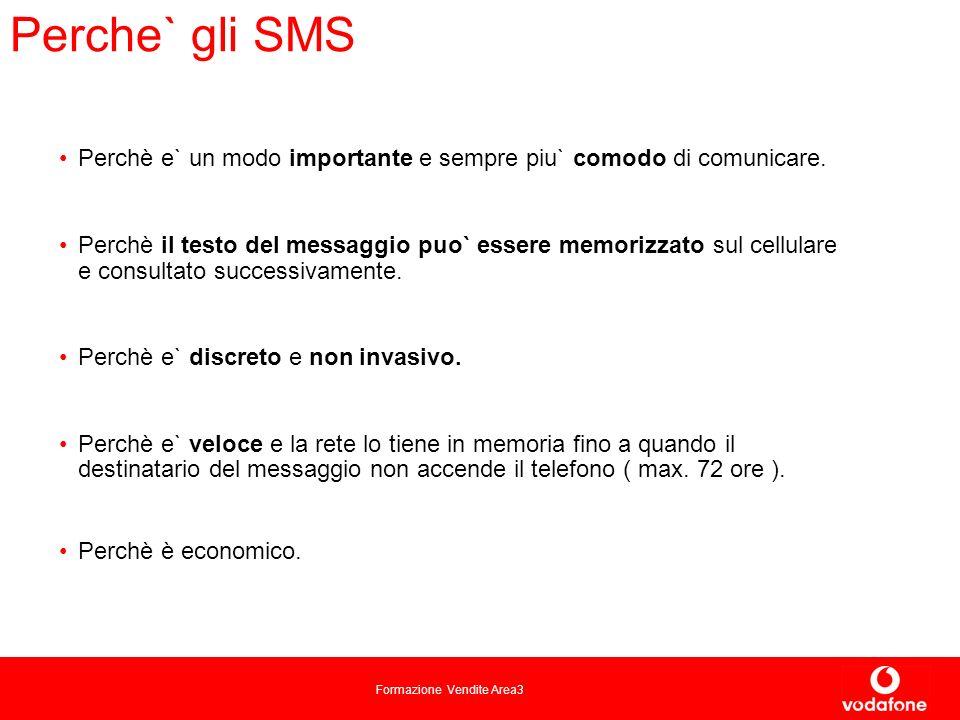 Perche` gli SMS Perchè e` un modo importante e sempre piu` comodo di comunicare.