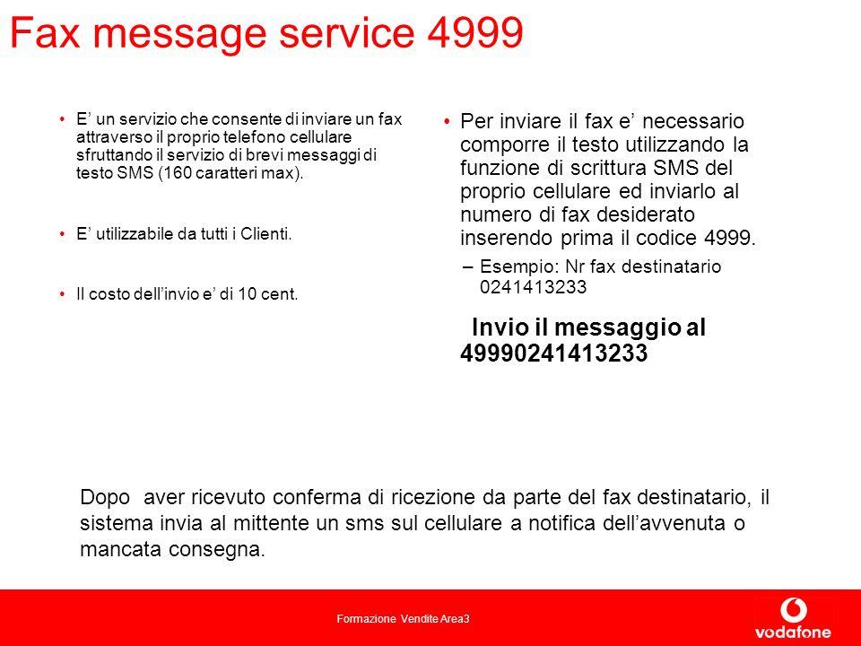 Fax message service 4999
