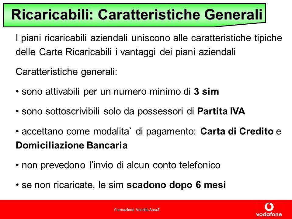 Ricaricabili: Caratteristiche Generali