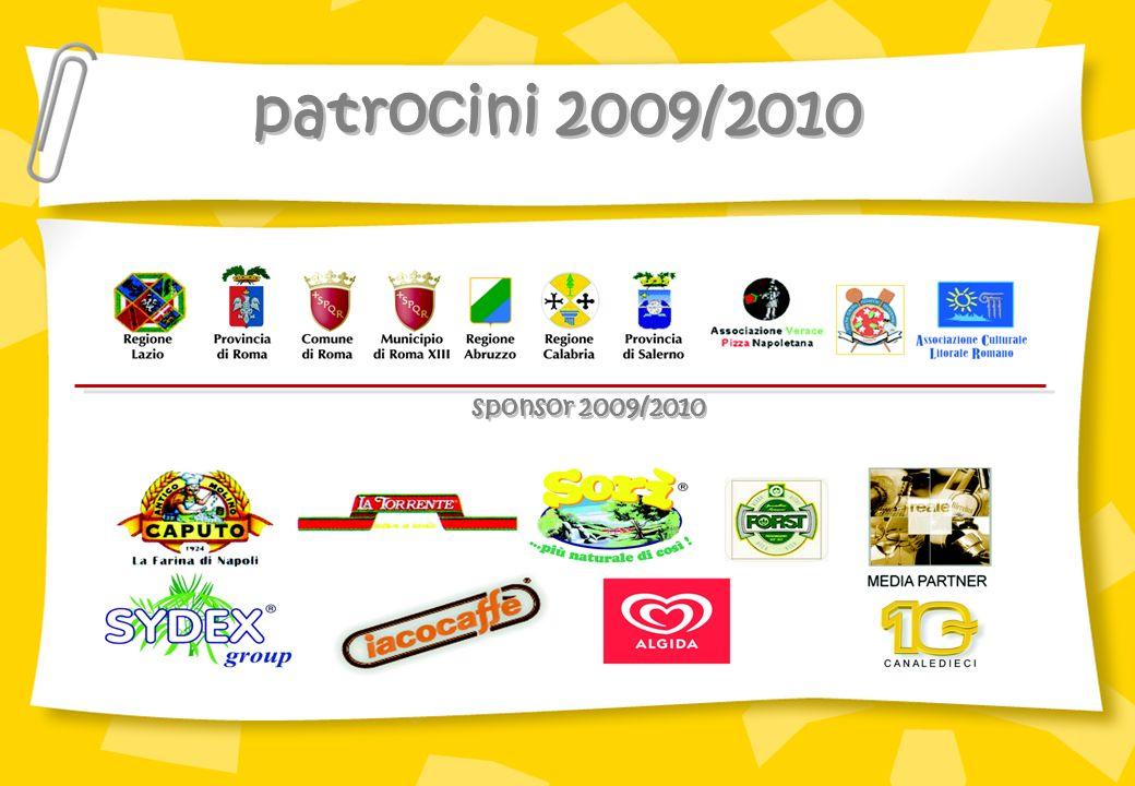 patrocini 2009/2010 sponsor 2009/2010