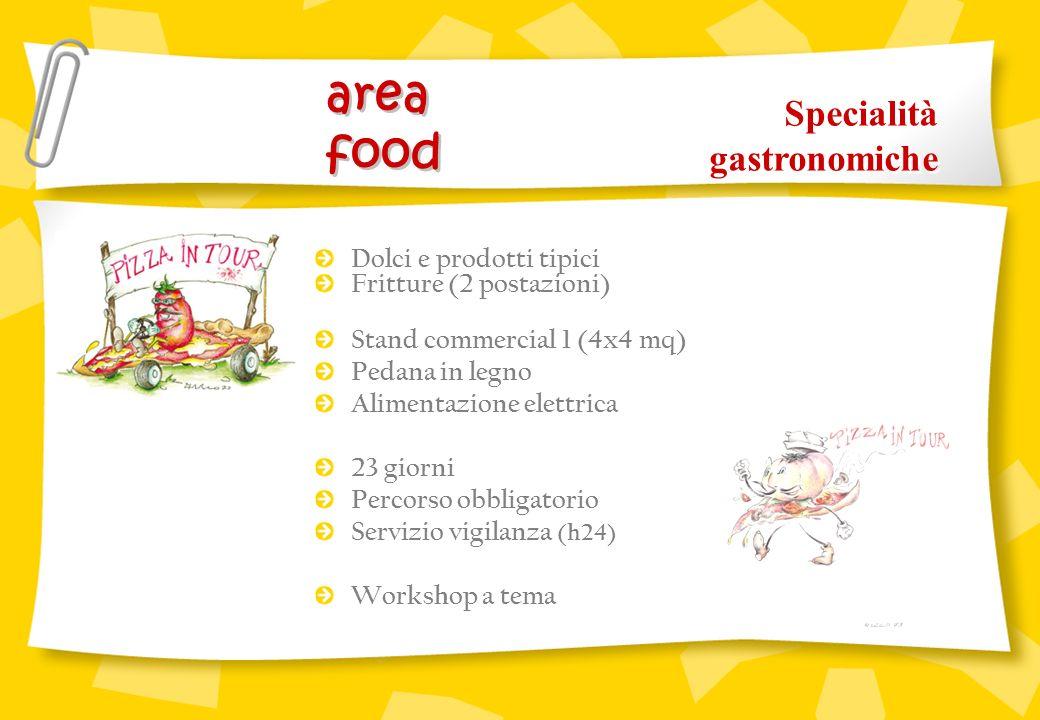 area food Specialità gastronomiche Dolci e prodotti tipici