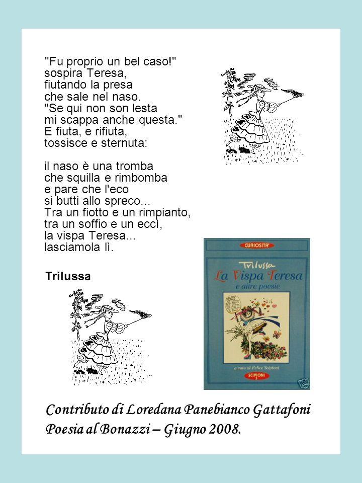Contributo di Loredana Panebianco Gattafoni