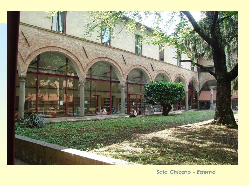 Sala Chiostro - Esterno