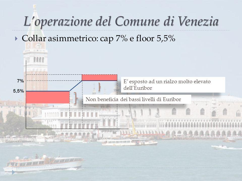 L'operazione del Comune di Venezia