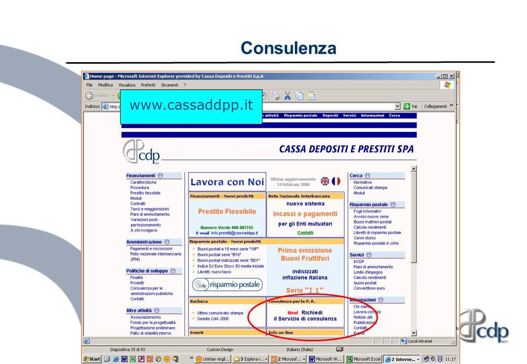 Consulenza www.cassaddpp.it