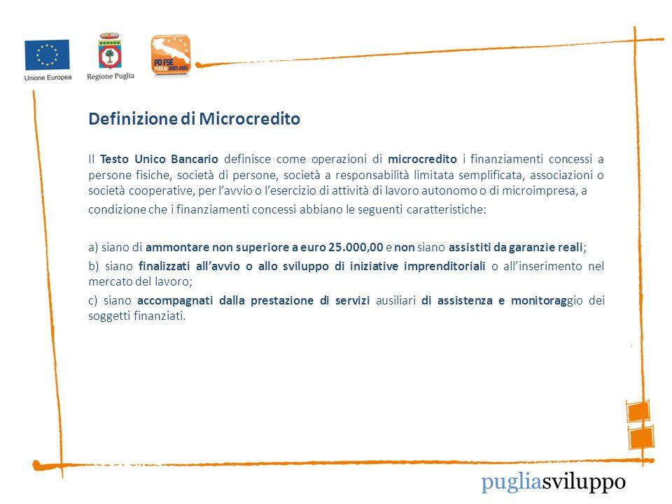 Definizione di Microcredito