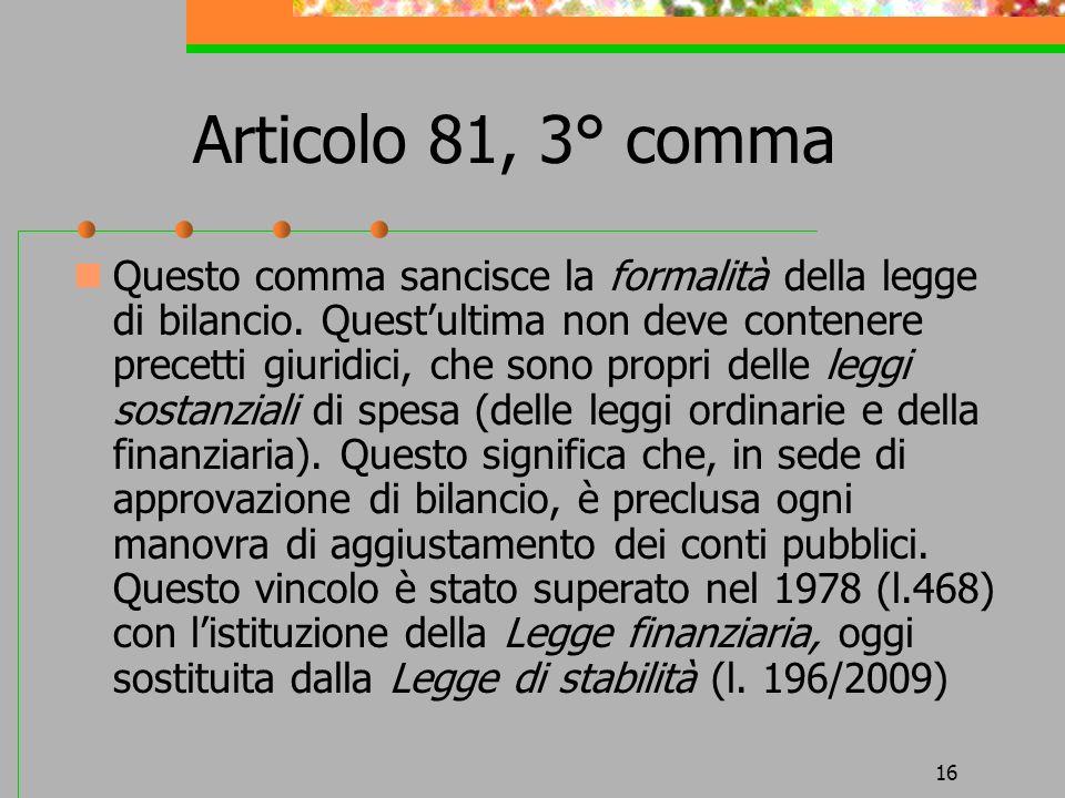 Articolo 81, 3° comma