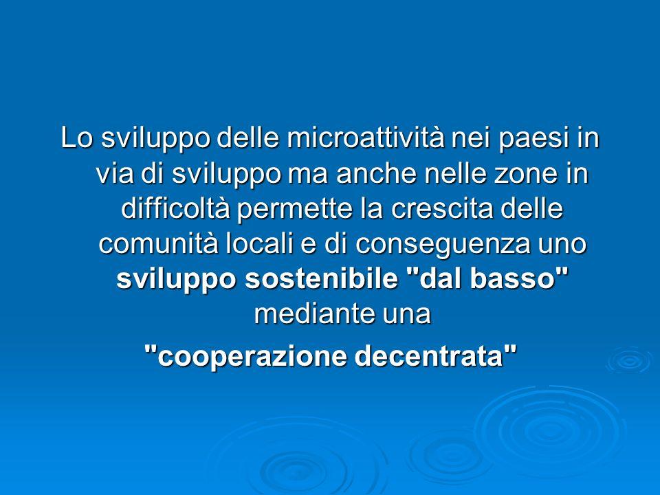 cooperazione decentrata